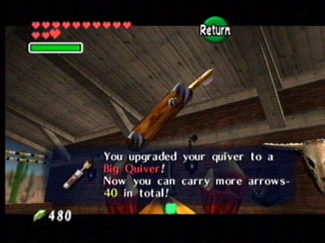 how to carry more rupees ocarina of time
